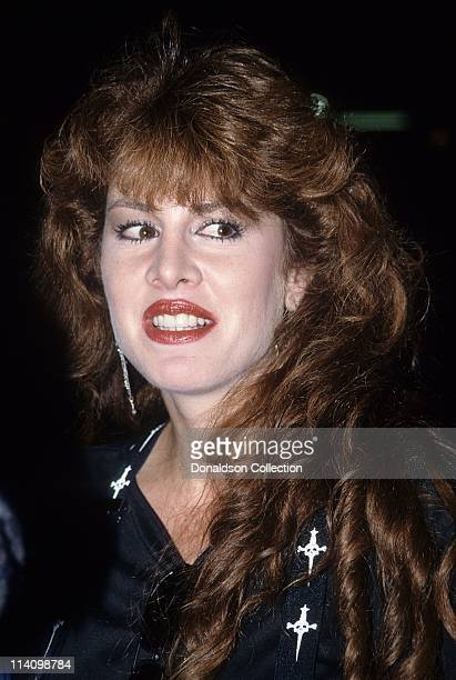 Jessica Hahn poses for a portrait in 1989 in Los Angeles California