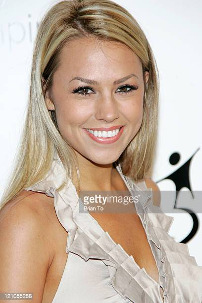 Jessica Hall attends Big Brothers Big Sisters' Accessories for Success spring luncheon at Beverly Hills Hotel on April 27 2010 in Beverly Hills...