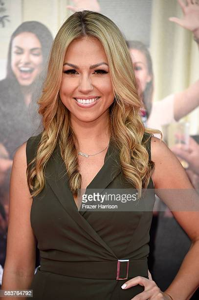 Jessica Hall attends the premiere of STX Entertainment's Bad Moms at Mann Village Theatre on July 26 2016 in Westwood California