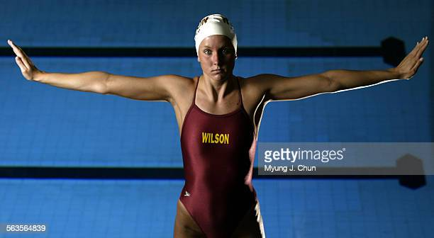 Jessica Hardy a junior at Long Beach Wilson High School is The Times Girl Swimmer of the Year She specializes in the breaststroke and has a good...