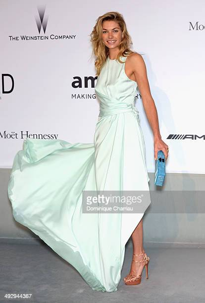 Jessica Hart attends amfAR's 21st Cinema Against AIDS Gala Presented By WORLDVIEW BOLD FILMS And BVLGARI at Hotel du CapEdenRoc on May 22 2014 in Cap...