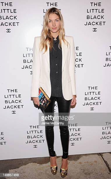 Jessica Hart attends Chanel's:The Little Black Jacket Event at Swiss Institute on June 6, 2012 in New York City.