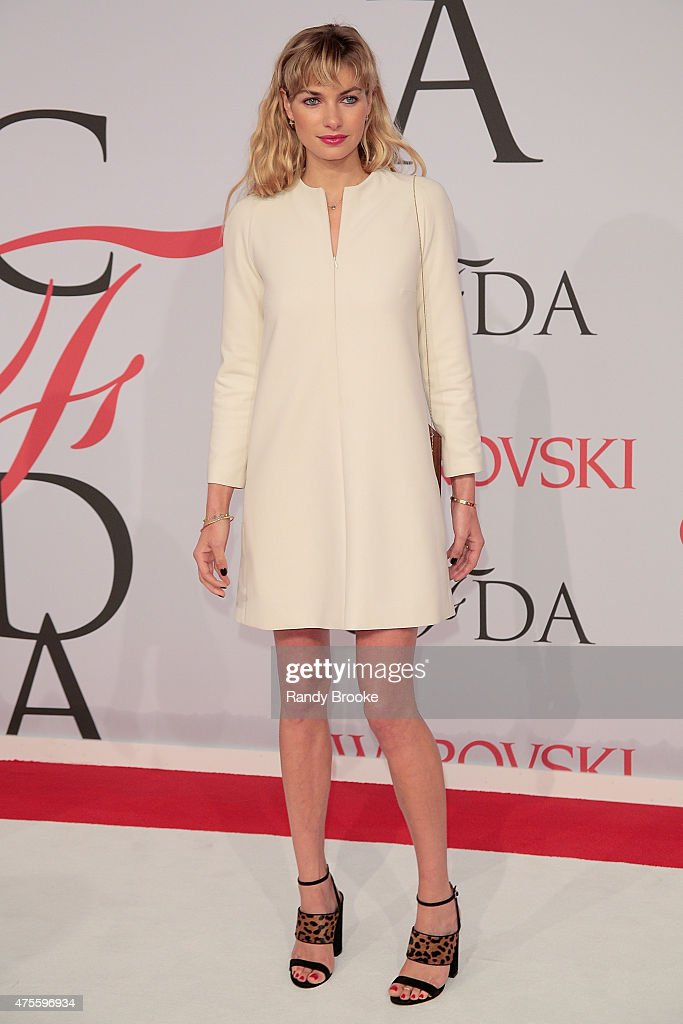 Jessica Hart attends the 2015 CFDA Fashion Awards at Alice Tully Hall at Lincoln Center on June 1, 2015 in New York City.