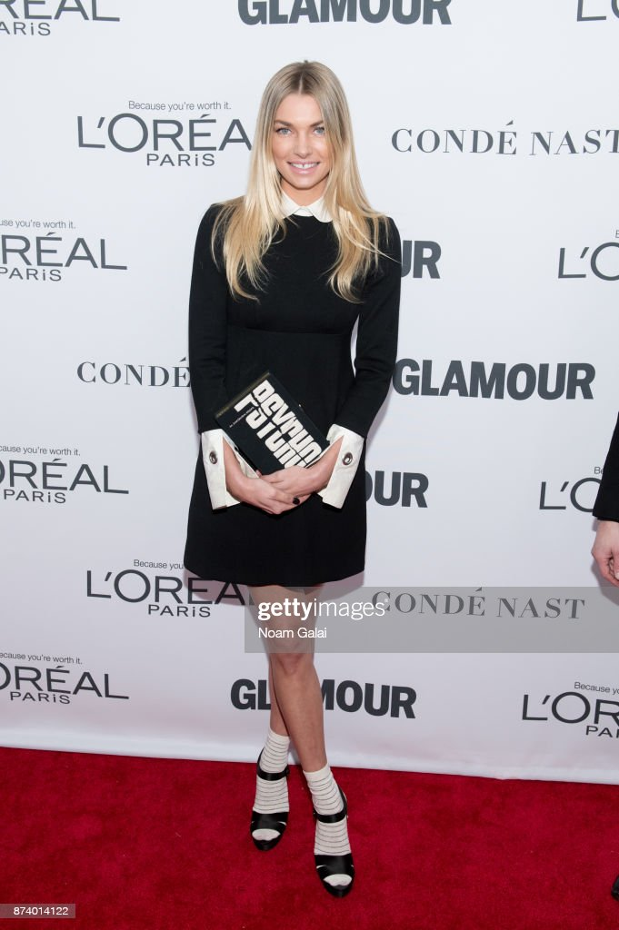 Jessica Hart attends the 2017 Glamour Women of The Year Awards at Kings Theatre on November 13, 2017 in New York City.