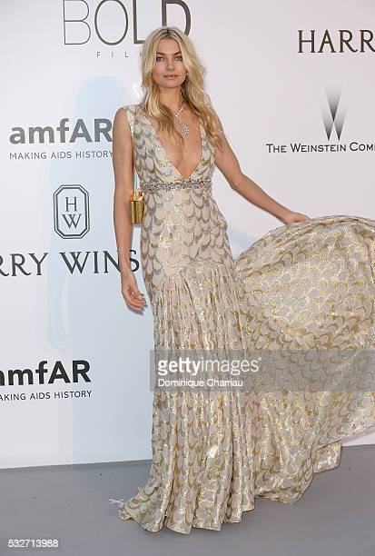 Jessica Hart attends the amfAR's 23rd Cinema Against AIDS Gala at Hotel du CapEdenRoc on May 19 2016 in Cap d'Antibes France