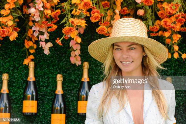 Jessica Hart attends The Tenth Annual Veuve Clicquot Polo Classic Arrivals at Liberty State Park on June 3 2017 in Jersey City New Jersey