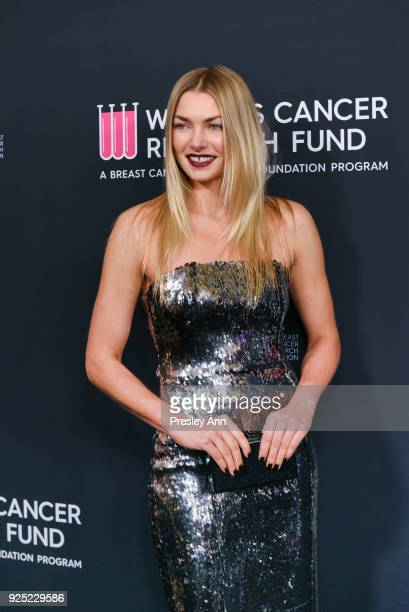 Jessica Hart attends The Women's Cancer Research Fund's An Unforgettable Evening Benefit Gala Arrivals at the Beverly Wilshire Four Seasons Hotel on...