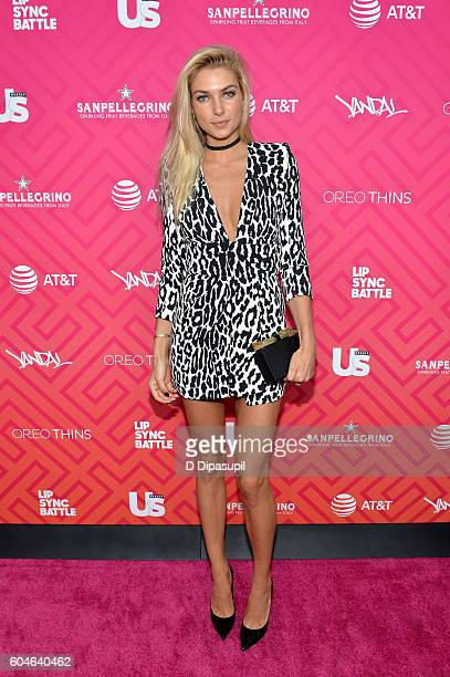 Jessica Hart attends Us Weekly's Most Stylish New Yorkers 2016 at Vandal on September 13 2016 in New York City