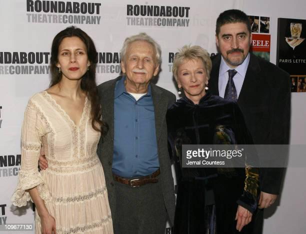 Jessica Hecht Alvin Epstein Elizabeth Franz and Alfred Molina