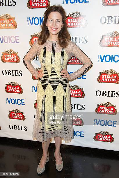 Jessica Hecht attends the 2013 Obie Awards at Webster Hall on May 20, 2013 in New York City.