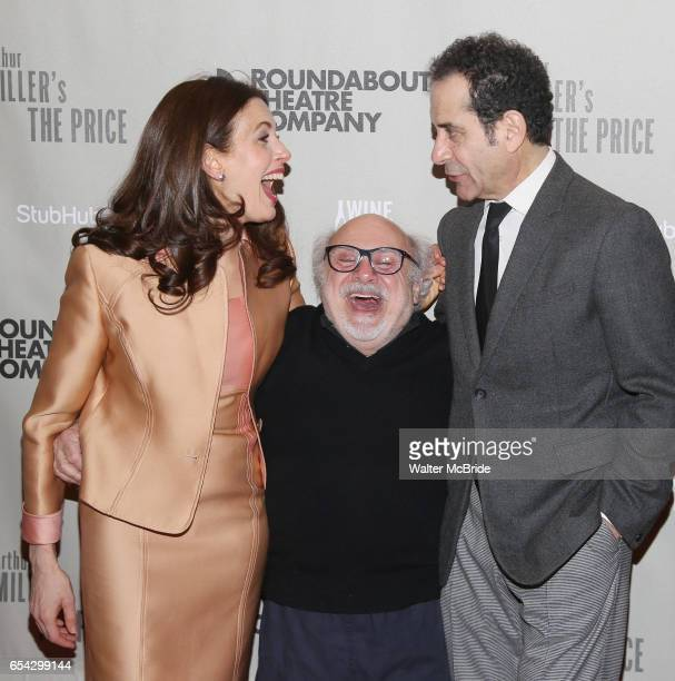 Jessica Hecht Danny DeVito Tony Shalhoub attend the Broadway Opening Night performance After Party for the Roundabout Theatre Production of 'The...