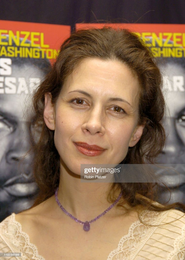 Jessica Hecht during The Broadway Opening of 'Julius Caesar' starring Denzel Washington - April 3, 2005 at The Belasco Theatre and Gotham Hall in New York City, New York, United States.