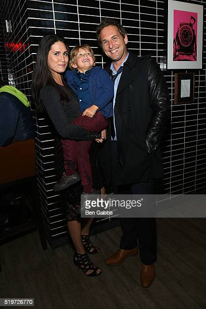 Jessica Henriquez Noah Rev Maurer and actor Josh Lucas attend Disney With The Cinema Society Samsung host a screening of The Jungle Book after party...