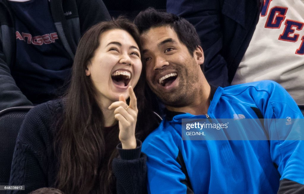 Celebrities Attend Montreal Canadiens Vs. New York Rangers - March 04, 2017 : News Photo