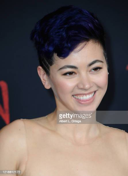 """Jessica Henwick arrives for the Premiere Of Disney's """"Mulan"""" held at Dolby Theatre on March 9, 2020 in Hollywood, California."""