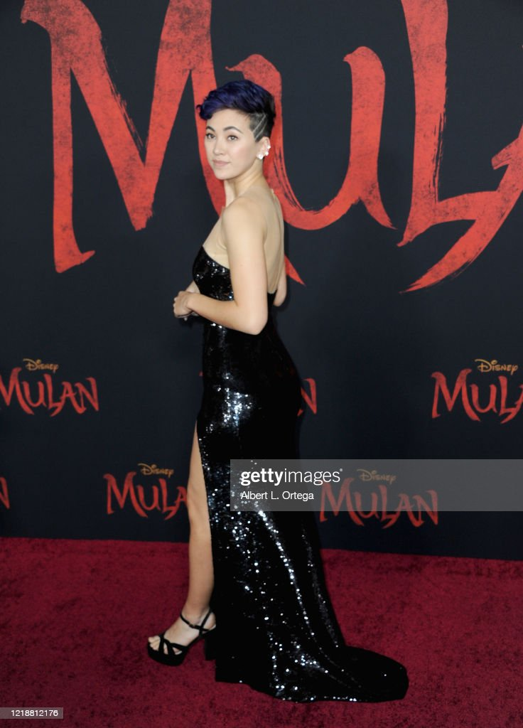 Jessica Henwick Arrives For The Premiere Of Disney S Mulan Held At News Photo Getty Images