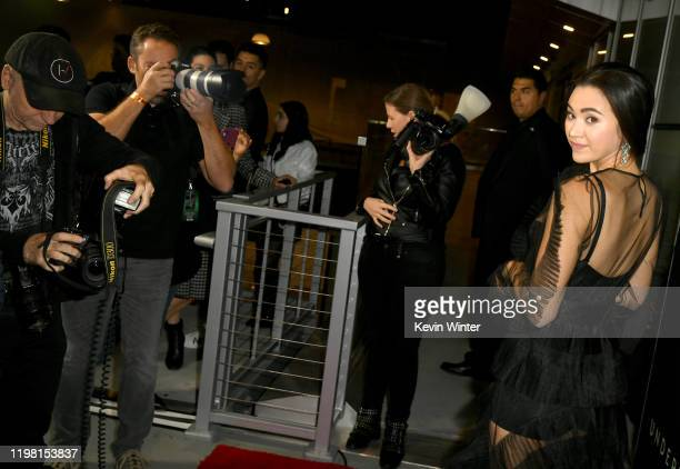 """Jessica Henwick attends a special fan screening of 20th Century Fox's """"Underwater"""" at Alamo Drafthouse Cinema on January 07, 2020 in Los Angeles,..."""