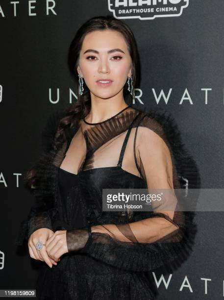 Jessica Henwick attends a special fan screening of 20th Century Fox's Underwater at Alamo Drafthouse Cinema on January 07 2020 in Los Angeles...