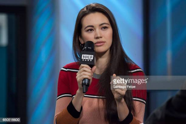Jessica Henwick attends Build Series to discuss Iron Fist at Build Studio on March 9 2017 in New York City
