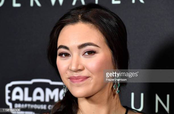 """Jessica Henwick attends the Special Fan Screening Of 20th Century Fox's """"Underwater"""" at Alamo Drafthouse Cinema on January 07, 2020 in Los Angeles,..."""