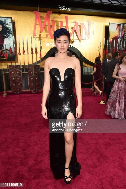 Jessica Henwick attends the World Premiere of Disney's 'MULAN' at the Dolby Theatre on March 09, 2020 in Hollywood, California.