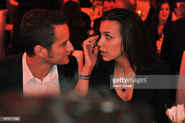 Jessica Hinterseer and Timo Scheider attend at the Polo Players Gala Dinner on January 14 2012 in Kitzbuehel Austria