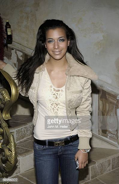 Jessica Hinterseer attends a luncheon for a special tribute to David LaChapelle's documentary Rize on March 3 2006 in Los Angeles California The...