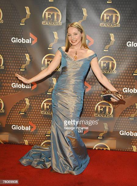 Jessica Holmes attends The 22nd Annual Gemini Awards at the Conexus Arts Centre on October 28, 2007 in Regina, Canada.