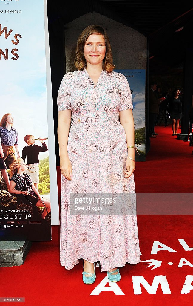 Jessica Hynes arrives for the World Premiere of 'Swallows and Amazons' at Theatre by the Lake on July 24, 2016 in Keswick, England.