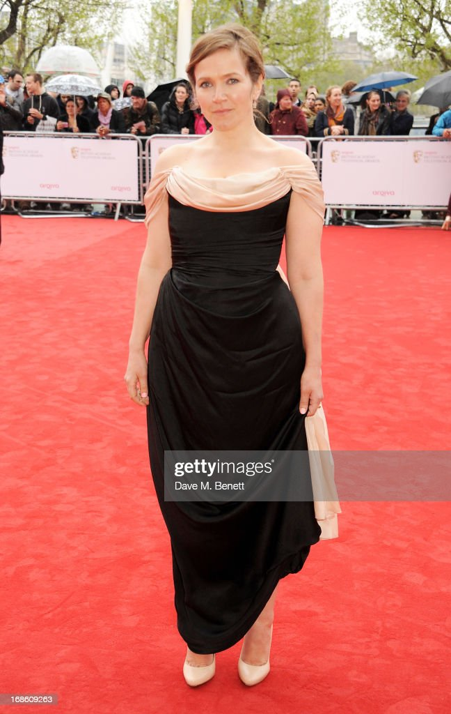Jessica Hynes attends the Arqiva British Academy Television Awards 2013 at the Royal Festival Hall on May 12, 2013 in London, England.