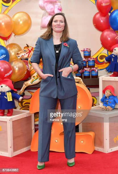 Jessica Hynes attends the 'Paddington 2' premiere at BFI Southbank on November 5 2017 in London England