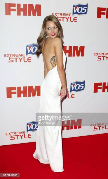 Jessica Jane Clement Attends A Party To Celebrate Fhm'S Annual Poll Of The 100 Sexiest Women In The World At Proud Bank