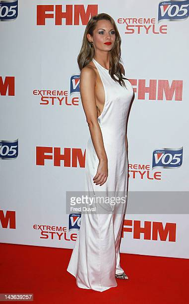 Jessica Jane Clement attends FHM's annual poll party at Proud Bank on May 1 2012 in London England
