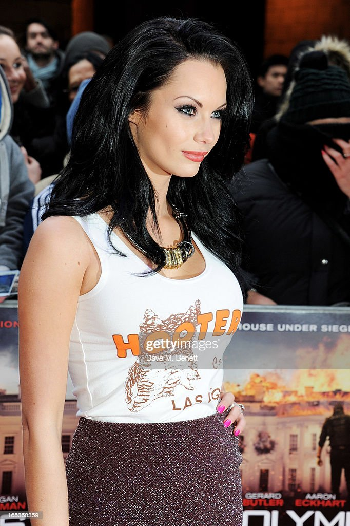 Jessica Jane Clement attends the UK Premiere of 'Olympus Has Fallen' at BFI IMAX on April 3, 2013 in London, England.