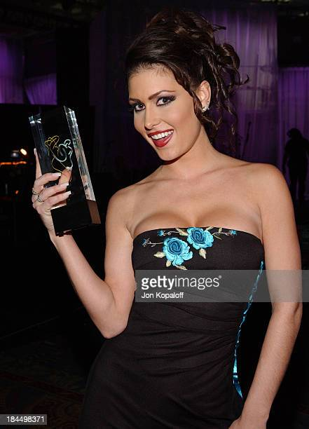 Jessica Jaymes during 2005 AVN Awards Arrivals and Backstage at The Venetian Hotel in Las Vegas Nevada United States