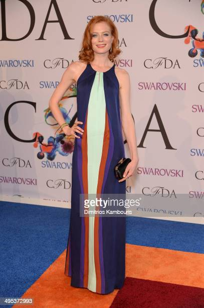 Jessica Joffe attends the 2014 CFDA fashion awards at Alice Tully Hall, Lincoln Center on June 2, 2014 in New York City.