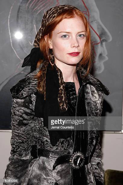 """Jessica Joffe attends the Dolce & Gabbana's """"The One"""" Fragrance Launch and Private Dinner at The Grammercy Park Hotel on december 4, 2007 in New York..."""