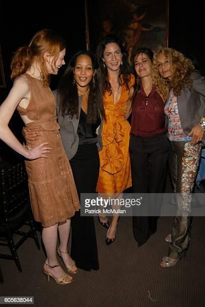 Jessica Joffe Maggie Betts Alexia Kondyliss Allison Sarofim and Ann DexterJones attend ZAC POSEN After Show Party Sponsored by Grey Goose Vodka at...