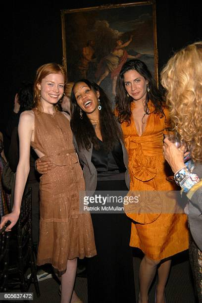 Jessica Joffe Maggie Betts Alexia Kondyliss and Ann Dexter Jones attend ZAC POSEN After Show Party Sponsored by Grey Goose Vodka at Christies on...
