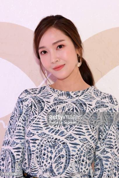 Jessica Jung attends the Chloe show as part of the Paris Fashion Week Womenswear Fall/Winter 2019/2020 on February 28 2019 in Paris France