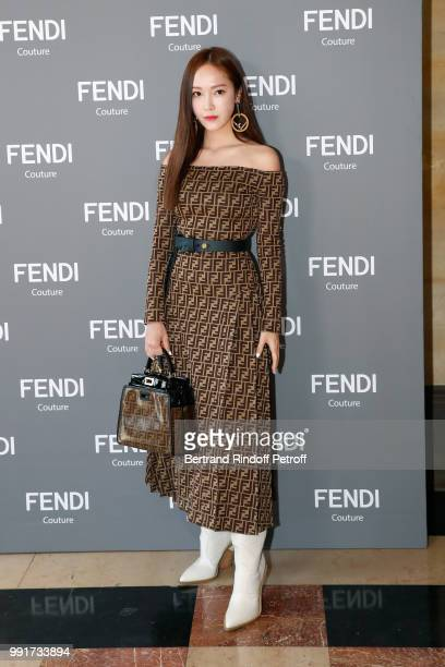 Jessica Jung attends the Fendi Couture Haute Couture Fall Winter 2018/2019 show as part of Paris Fashion Week on July 4 2018 in Paris France