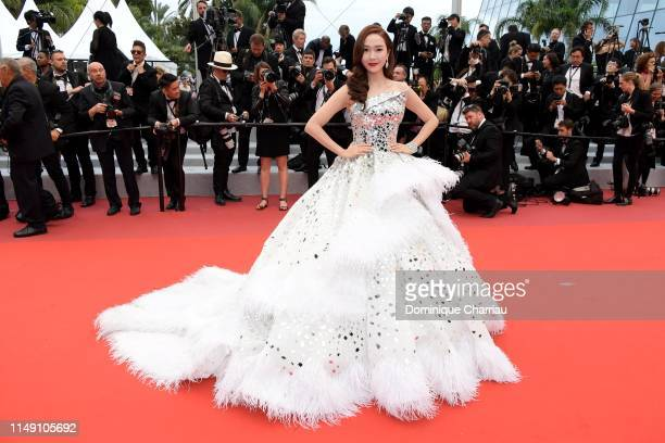 Jessica Jung attends the opening ceremony and screening of The Dead Don't Die during the 72nd annual Cannes Film Festival on May 14 2019 in Cannes...