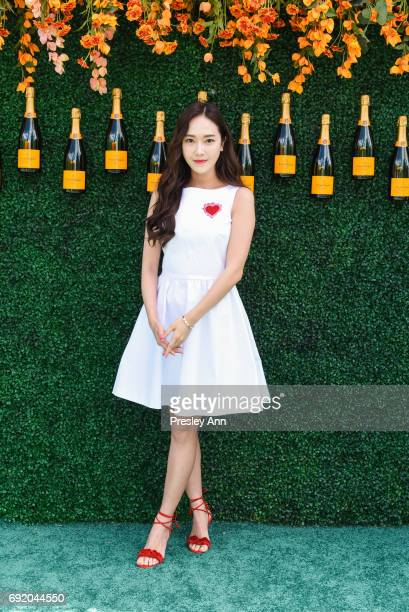 Jessica Jung attends The Tenth Annual Veuve Clicquot Polo Classic Arrivals at Liberty State Park on June 3 2017 in Jersey City New Jersey