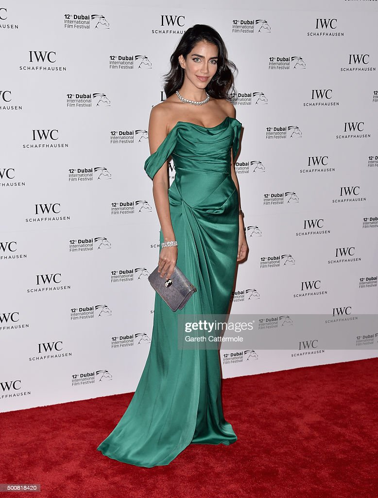 Jessica Kahawati attends the IWC Filmmakers Award during day two of the 12th annual Dubai International Film Festival held at The One and Only Mirage Hotel on December 10, 2015 in Dubai, United Arab Emirates.
