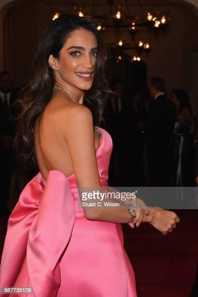 Jessica Kahawaty attend the sixth IWC Filmmaker Award gala dinner at the 14th Dubai International Film Festival during which Swiss luxury watch...