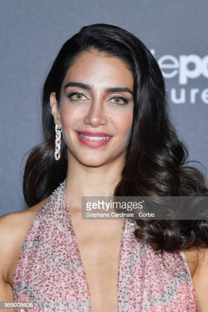 Jessica Kahawaty attends a party in Honour of John Travolta's receipt of the Inaugural Variety Cinema Icon Award during the 71st annual Cannes Film...