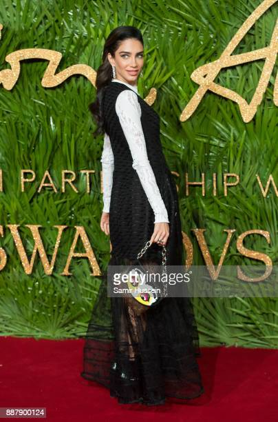 Jessica Kahawaty attends The Fashion Awards 2017 in partnership with Swarovski at Royal Albert Hall on December 4 2017 in London England