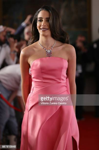 Jessica Kahawaty attends the IWC Filmmakers Award on day two of the 14th annual Dubai International Film Festival held at the One and Only Hotel on...