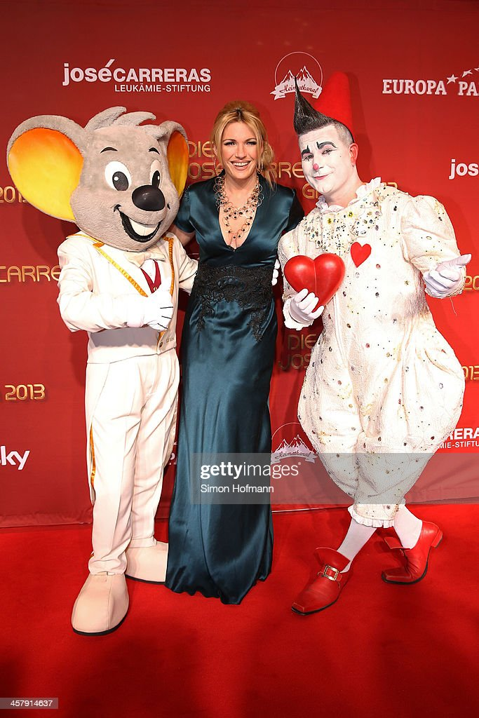 Jessica Kastrop attends the 19th Annual Jose Carreras Gala at Europapark on December 19, 2013 in Rust, Germany.