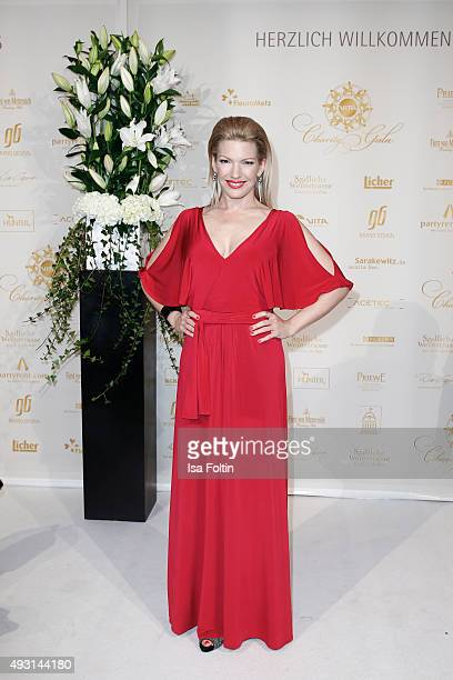 Jessica Kastrop attends the 6th VITA Charity Gala at Kurhaus on October 17 2015 in Wiesbaden Germany